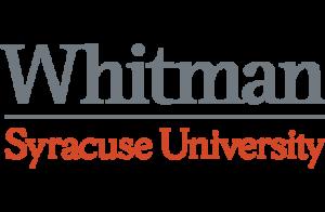 whitman syracuse university logo