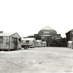 Quonset huts on The Quad 1946(150dpi)