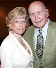 Marshall M. Gelfand with his wife