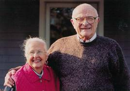 Jack Milton and wife