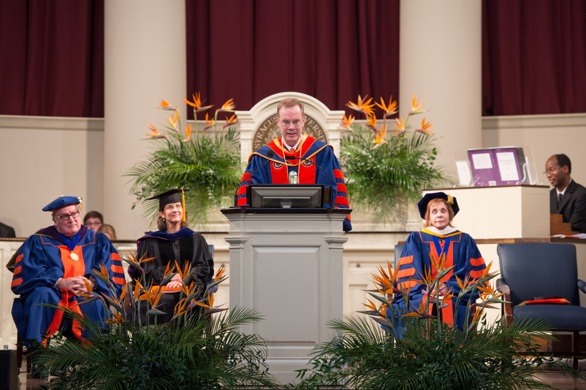 Inauguration Chancellor Kent Syverud Ceremony