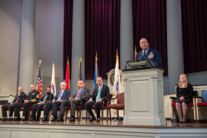 Veterans Day 2015 Ceremony Brigadier General Michael Fantini Keynote Speaker