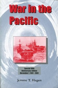 book cover titled War in the Pacific by Jerome T. Hagen