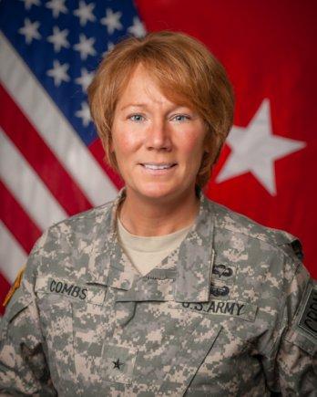 Maj. Gen. Peggy Combs