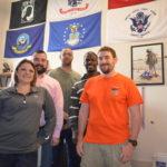 Student Veterans Organization officers