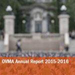 OVMA 2015-2016 Annual report