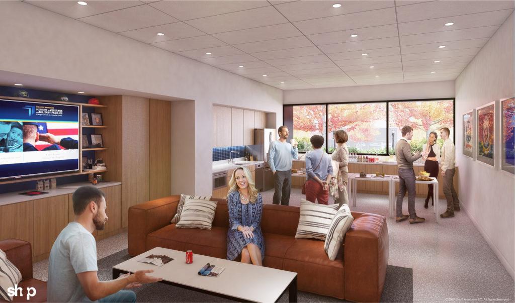NVRC rendering: SVO lounge