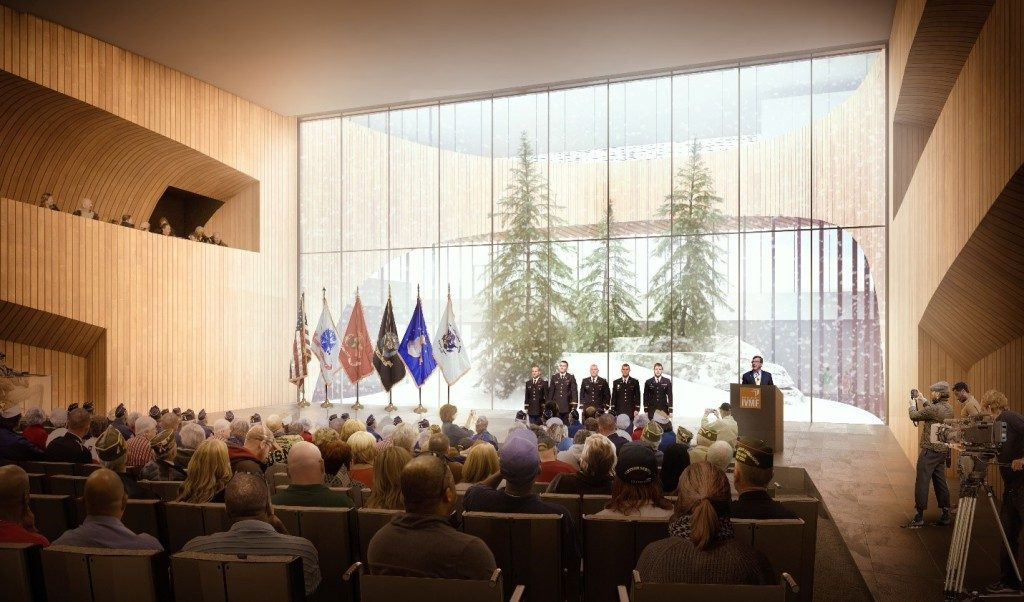 NVRC rendering exhibition hall