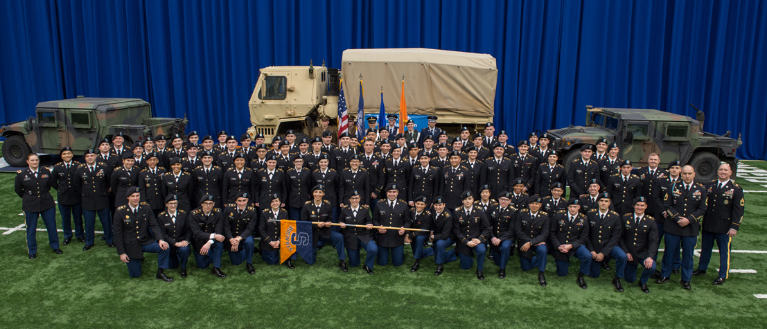 Group picture of Army ROTC cadets