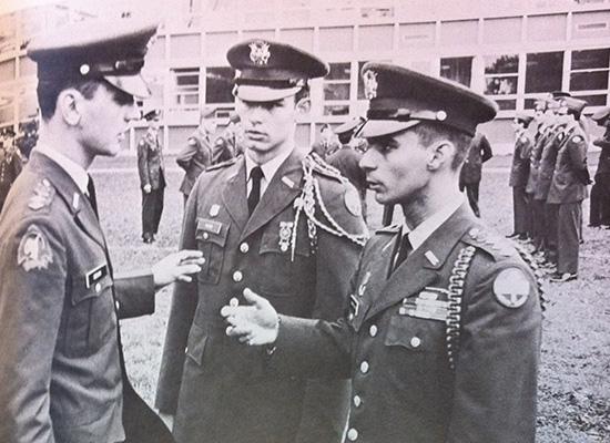 ROTC members, 1969 Onondagan
