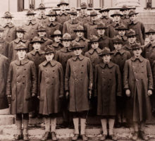 Picture of the Student Army Training CORPS (SATC)