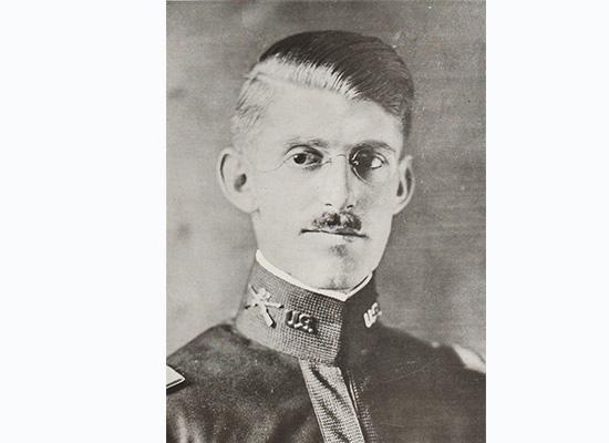 Major Sidney F. Mashbir, first commandant of the Syracuse University ROTC