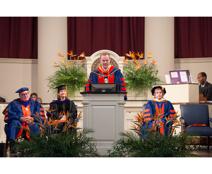 Chancellor Kent Syverud Ceremony