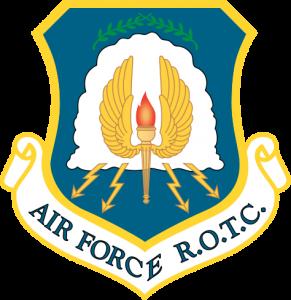 Air Force ROTC shield.