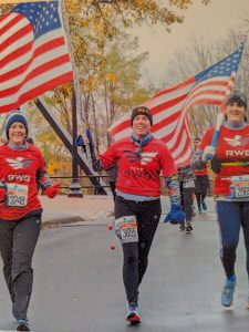 Jackie Snow as Team RWB veterans director for Syracuse, New York chapter