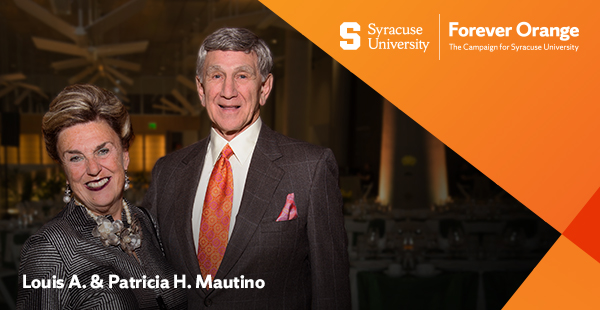 Patricia H. '64, G'66 and Louis A. '61, G'62 Mautino