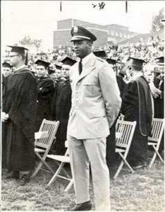 Ernie Davis ROTC uniform
