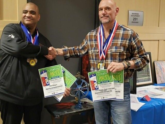 Richard Rodriguez and Mark Mossman