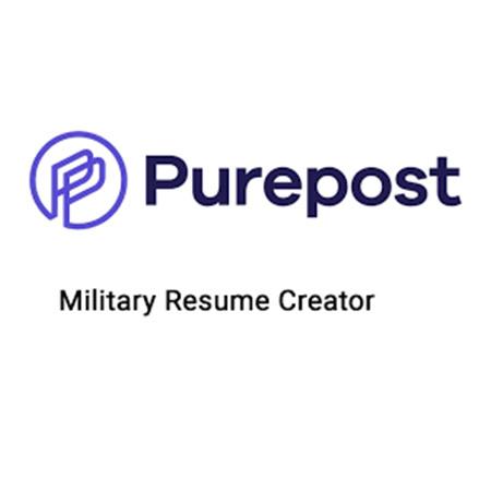 Purepost Military Resume Creator