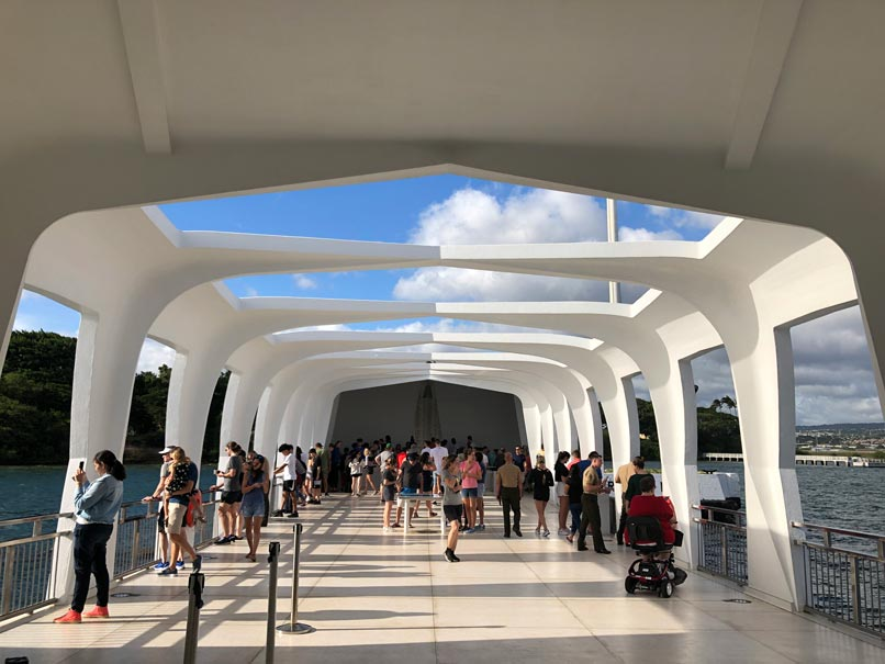 Inside USS Arizona Memorial
