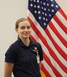 Air Force Cadet Hope Spencer
