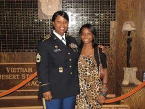 Darasha and her mother.