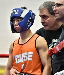 Phil coaching boxing