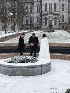 Phil Benedict Marrying alumni
