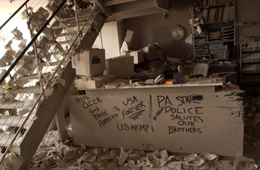 Graffiti On Counter